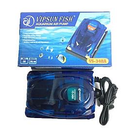Máy Sủi Khí Oxy 2 vòi Vipsun VS-348A - Cho Hồ Cá, Bể Cá Cao Cấp