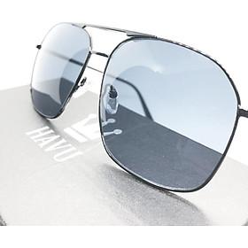 Kính mắt nam HAVU râm đẹp thời trang cao cấp chống bụi không độ bảo vệ mắt thích hơp đi biển đi du lịch HN4