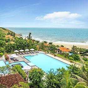 Romana Resort 4* Mũi Né Phan Thiết - Ăn 03 Bữa, Phòng Hướng Biển, Hồ Bơi Lớn, Bãi Biển Riêng, Không Phụ Thu Cuối Tuần