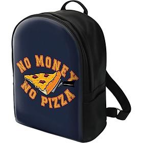 Balo In Hình No Money, No Pizza BHTE142 (27 x 35.5 cm)