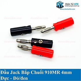Bộ 3 cặp Đầu Jack bắp chuối banana 910MR đực đen + đỏ