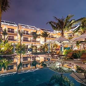 La Siesta Resort & Spa 5* Hội An - Gói 2N1Đ Ăn 02 Bữa, 02 Hồ Bơi, Trung Tâm Phố Cổ, Top 25 Khách Sạn Châu Á