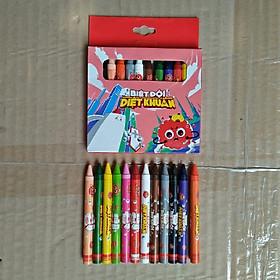 Bút sáp 12 màu cho bé