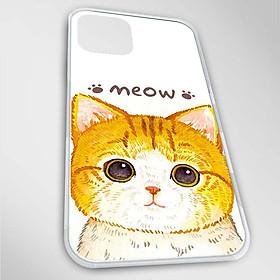 Ốp lưng dành cho iPhone 12, 12 Pro, 12 Pro Max, Mini mẫu Meow