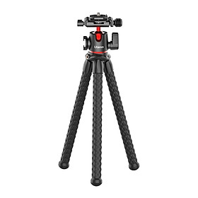 ULANZI MT-32 Flexible Portable Mini Octopus Tripod Stand with 360° Rotatable Panoramic Ball Head Quick Release Plate