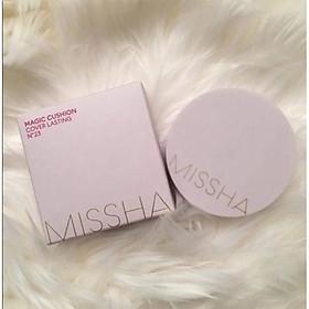 Phấn Nước Che Phủ Hoàn Kiềm Dầu Missha M Magic Cushion Cover Lasting SPF50+/PA+++ 15g