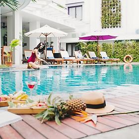 ÊMM Hotel 4* Huế - Trung Tâm Thành Phố, Buffet Sáng, Hồ Bơi, Gần Cầu Trường Tiền & Sông Hương