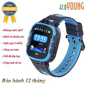 Đồng Hồ Định Vị Thể Thao ecoWATCH E3S (Sport) Chống nước - Hàng Nhập Khẩu
