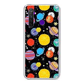 Ốp lưng điện thoại Realme 5 Pro - Silicon dẻo - 0414 GALAXY03 - Hàng Chính Hãng