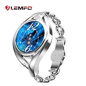 LEMFO LEM1995 Smart Female Watch 1.09-Inch IPS Screen BT5.0 Fitness Tracker IP67 Waterproof Female Cycle Management