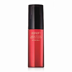 Kem nền dưỡng ẩm Astalift Lighting Perfection Moist Pure Liquid UV 25/PA++