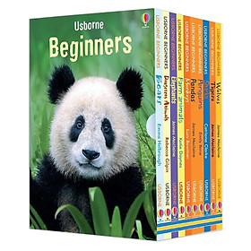 Usborne Beginners Boxed Set: Animals