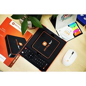 FPT Play Box new 2021, Ram 2GB, HĐH Android TV 10, Hỗ Trợ 4K, Kết nối bluetooth, Tích Hợp Điều Khiển Bằng Giọng Nói, xem truyền hình HD đặc sắc, Model T550 (tặng gối chữ U cao cấp đi máy bay) - Hàng Chính Hãng nguyên seal