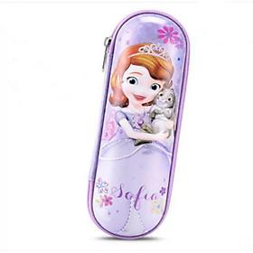Hộp Bút Học Sinh Hình Công Chúa Elsa, Hình Sophia Tặng Kèm Bộ Dụng Cụ Học Tập