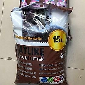 Cát vệ sinh cho mèo CatLike 15 L (giao màu mẫu nhiên)
