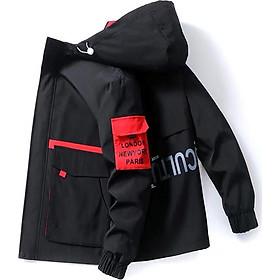 Áo khoác nam JJ05 DO , khoác dù nam 2 lớp phối nón không tháo rời thời trang hàn quốc trẻ trung cuốn hút Julido mẫu TT02 chất liệu thấm hút mồ hôi dày dặn mặc thoáng mát