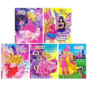 Bộ Sách Truyền Tranh Về Các Nàng Công Chúa Barbie (Bộ 5 Cuốn)