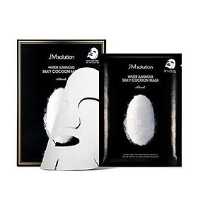 [ 10 miếng ] Mặt nạ làm mềm,cấp ẩm và dưỡng trắng JMsolution Water Luminous Silky Cocoon Mask 30ml
