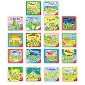 Full bộ Ehon Nhật Bản: 10 Chú Ếch (Bộ 18Q - Ehon Kỹ Năng Sống / Phát  Triển Tâm Hồn, Trí Tuệ & Tư Duy  / cho bé 3-8 tuổi + Poster An Toàn Cho Con Yêu)