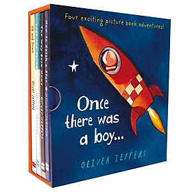 ONCE THERE WAS A BOY…  BOXED SET, 4 VOL