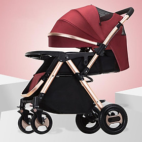 Xe đẩy trẻ em 2 chiều 3 tư thế, xe đẩy du lịch, xe đẩy gấp gọn