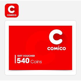 Comico - Phiếu Quà Tặng Comico 540 Coins