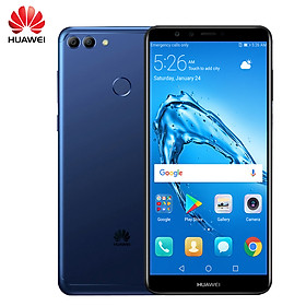 "HUAWEI Y9(2018) Global Version 4G Smartphone Android 8.0(Oreo) EMUI 8 Kirin 659 32GB ROM 3GB RAM 5.93"" 8 MP+13 MP Camera"