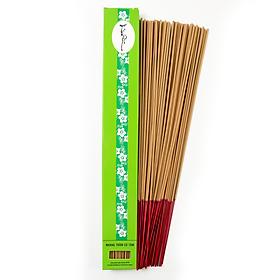Nhang Thiền - Nhang Trầm Hương Đặc Biệt 30cm-40g (55 cây) Chân Tăm Đỏ 100% Tự Nhiên