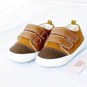 Giày Tập Đi Bé Trai - 03- 15 tháng- Hàng cao cấp chống trơn trượt- Mã 012
