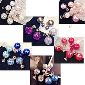 Sét 3 đôi bông tai bong bóng thời trang BT176