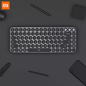 Bàn phím cơ không dây Xiaomi Ecological Chain MIIIW kết nối Bluetooth - Với 85 phím thích hợp cho nhiều thiết bị điện tử với hệ điều hành Windows và Mac - Bàn phím nghiêng 8 độ giúp giảm mỏi tay