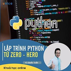 Khóa Học Lập Trình Python Từ Zero - Hero