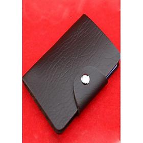 Ví Da Đựng Thẻ ATM- Ví Kẹp Thẻ - Ví Để Card - màu ngẫu nhiên