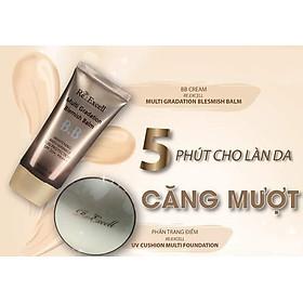 Combo trang điểm Daily Beauty gồm Phấn nước CC Cushion + 4 thỏi son lì Re:Excell Lipstick + kem nền BB cream R&B Việt Nam nhập khẩu chính ngạch Hàn Quốc-11