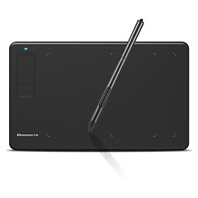 10moons G12 Graphics Drawing Tablet Ultralight Digital Art Creation Sketch 9.45 x 6 Inches with Battery-free Stylus 8