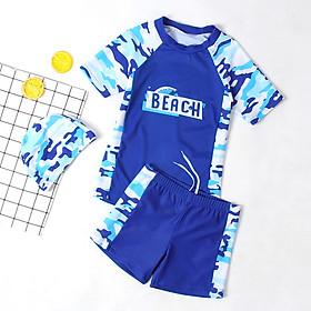 Đồ bơi bé trai ngắn tay Beach size từ 18kg đến 52kg