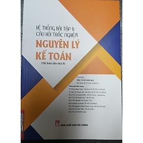 Hệ thống bài tập & câu hỏi trắc nghiệm nguyên lý kế toán