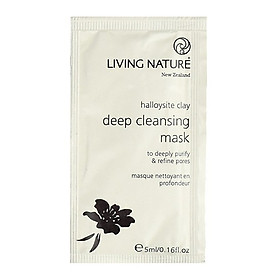 Mặt Nạ Đất Sét Living Nature Deep Cleansing Mask (Gói 5ml)