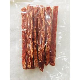 Đồ gặm cho chó - Snack thưởng thịt vịt sấy khô - Duck Jerky  Made in Korea