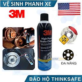 Bình xịt vệ sinh 3M 08880 làm sạch đĩa, phanh xe ôtô - Tẩy rửa rỉ sét dầu mỡ