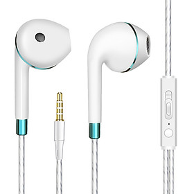 JY Bass Earphone with Microphone Wired for iphone Andriod Phone