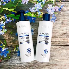 Bộ dầu gội xả cho tóc thưa mảnh rụng L'oreal Serioxyl GlucoBoost Natural Noticeably Thinning hair 250ml