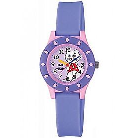 Đồng hồ trẻ em Q&Q Citizen VP13J010Y dây nhựa thương hiệu Nhật Bản