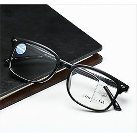 Kính lão thị kính viễn thị đa tròng nhìn m�i khoảng cách nam nữ sẵn độ