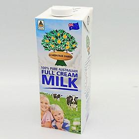 Thùng Sữa tươi nguyên chất tiệt trùng UHT Lemon Tree (thùng 12 hộp x 1L)