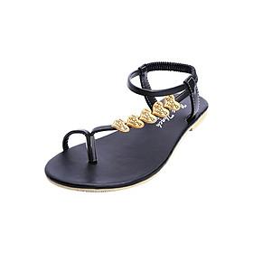 Giày Sandal Trang Trí Hình Tim