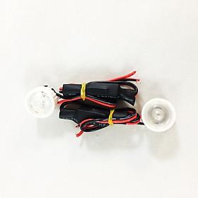 Bộ đèn led trợ sáng mini gắn xe máy