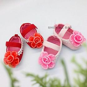 Giày vải tập đi siêu dễ thương cho bé gái ( hàng Việt Nam)