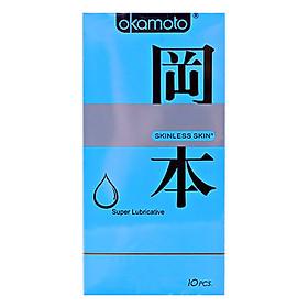 Bao Cao Su Okamoto Super Lubricated (10 Cái / Hộp)
