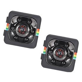 2x Mini DVR Camera HD Car Security Cam Dashboard Video Recorder Camcorder